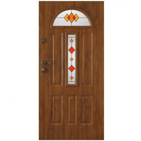 Drzwi wzmocnione zewnętrzne GTT wzór Werona3_T9F+T5F
