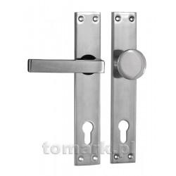 gałko-klamka 90 aluminiowa