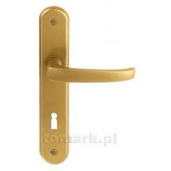 Klamka Lenox na klucz słoneczne złoto