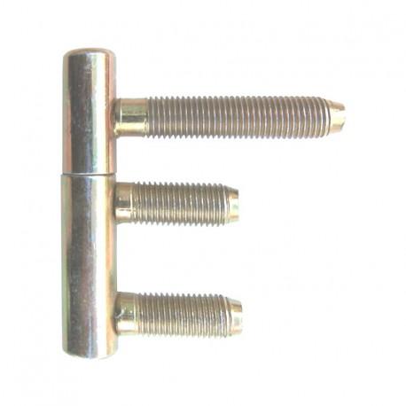 Zawias czopowy wkręcany 13.5x60x35 M9 kompletny