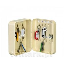 Szafka na klucze 24 haczyki metalowa