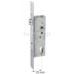 Zamek 92/35 mm do drzwi aluminiowych Cisa