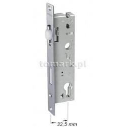 Zamek 32,5 rolkowy do drzwi aluminiowych esco